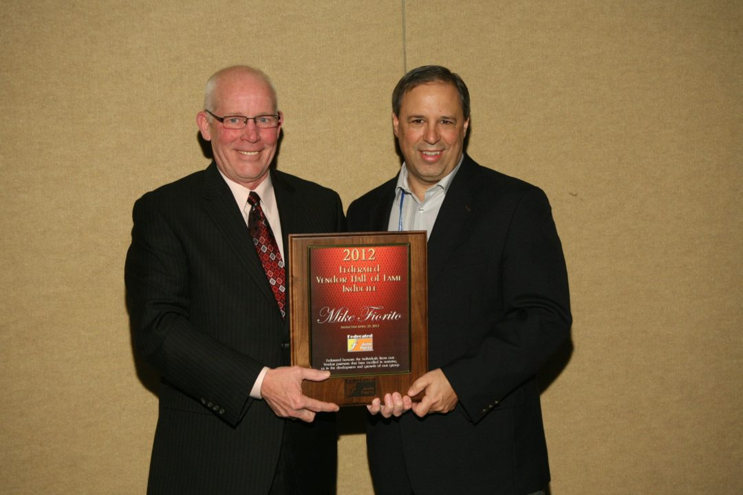 Fiorito inducted into Federated Vendor Hall of Fame