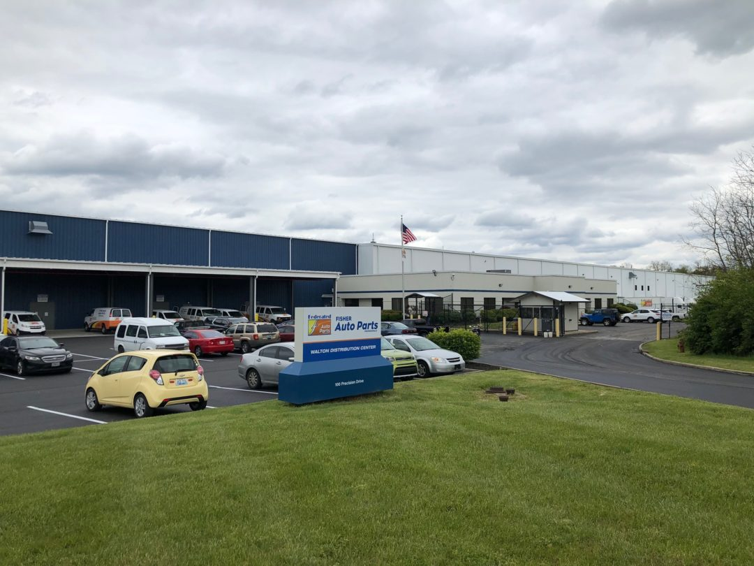Fisher Auto Parts Opens Distribution Center in Kentucky