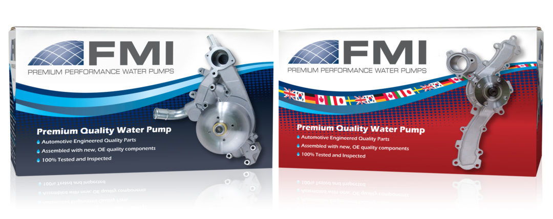 FMI expands water pump coverage for Ford and Lincoln vehicles