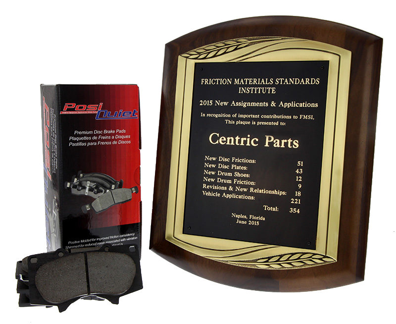 FMSI honors Centric Parts