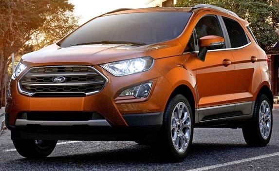 Ford EcoSport May Have Weak Seats