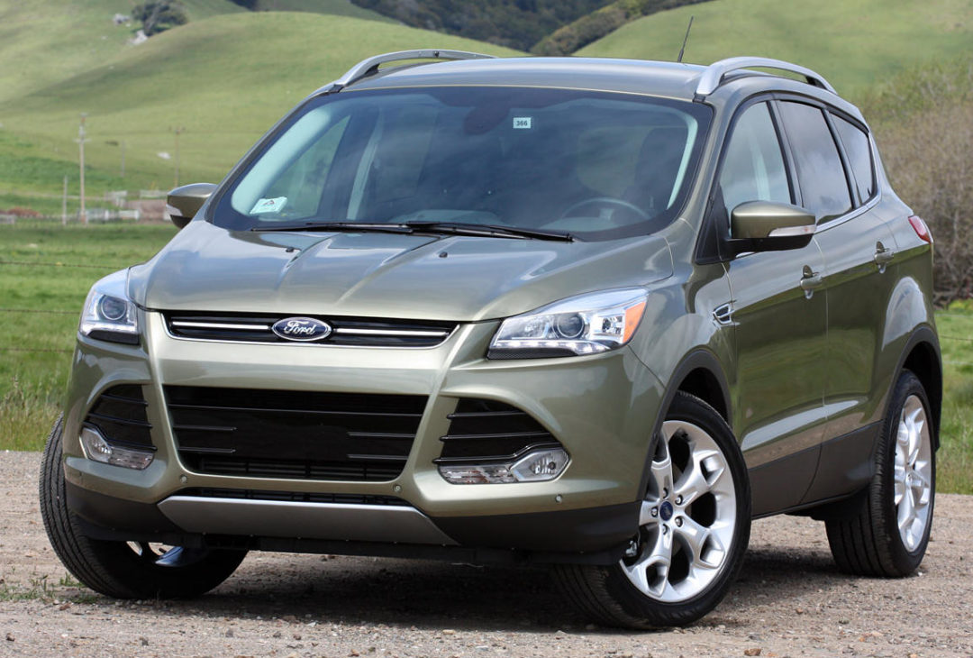 Ford Escape baffle pop