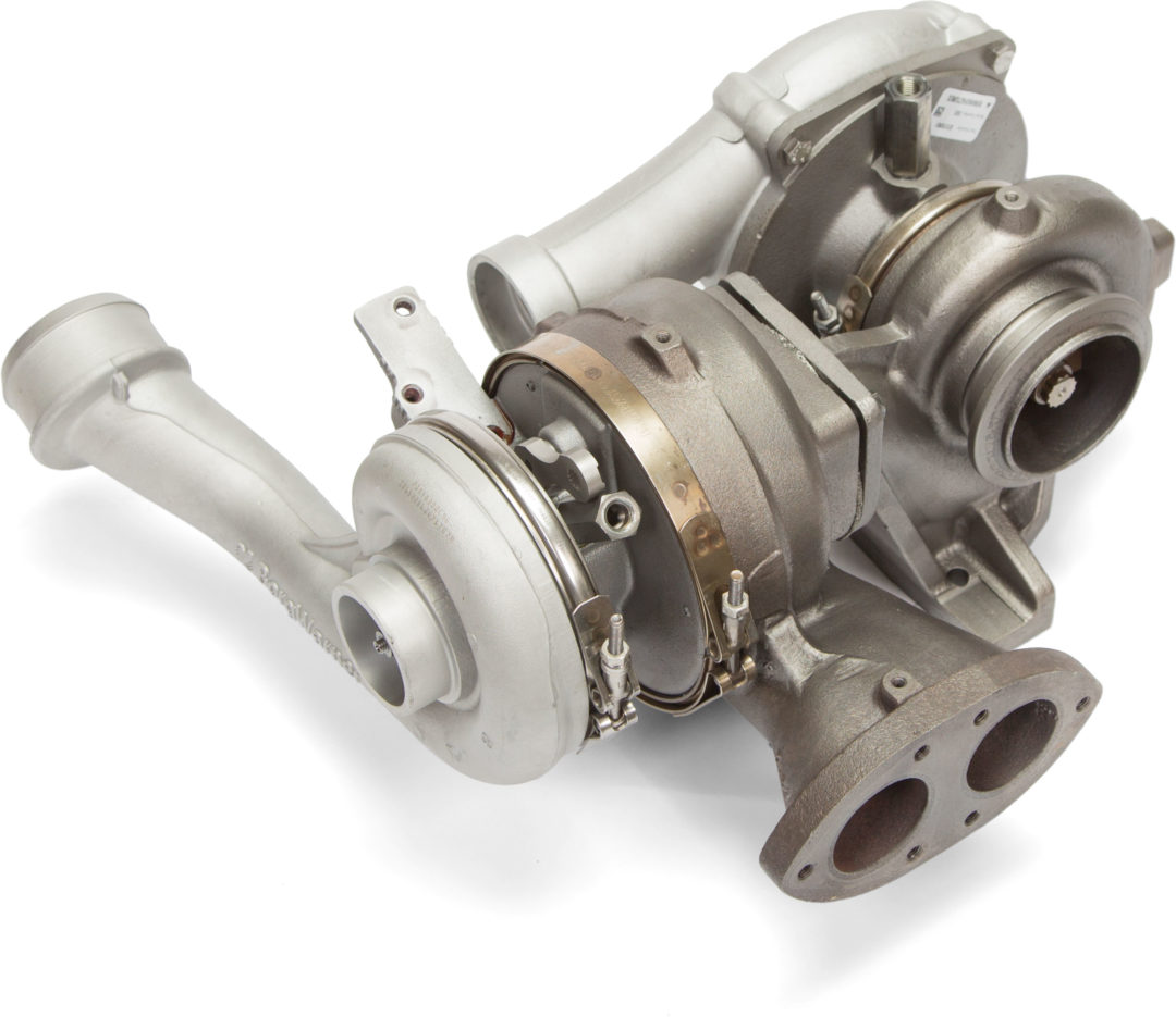 Ford Launches 6.4L Dual-Stage Turbocharger