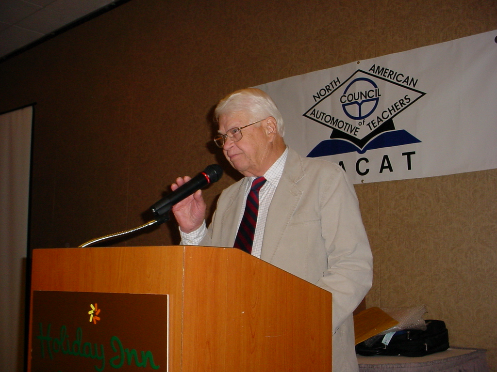 Former NACAT Executive Manager Al Goodyear dies