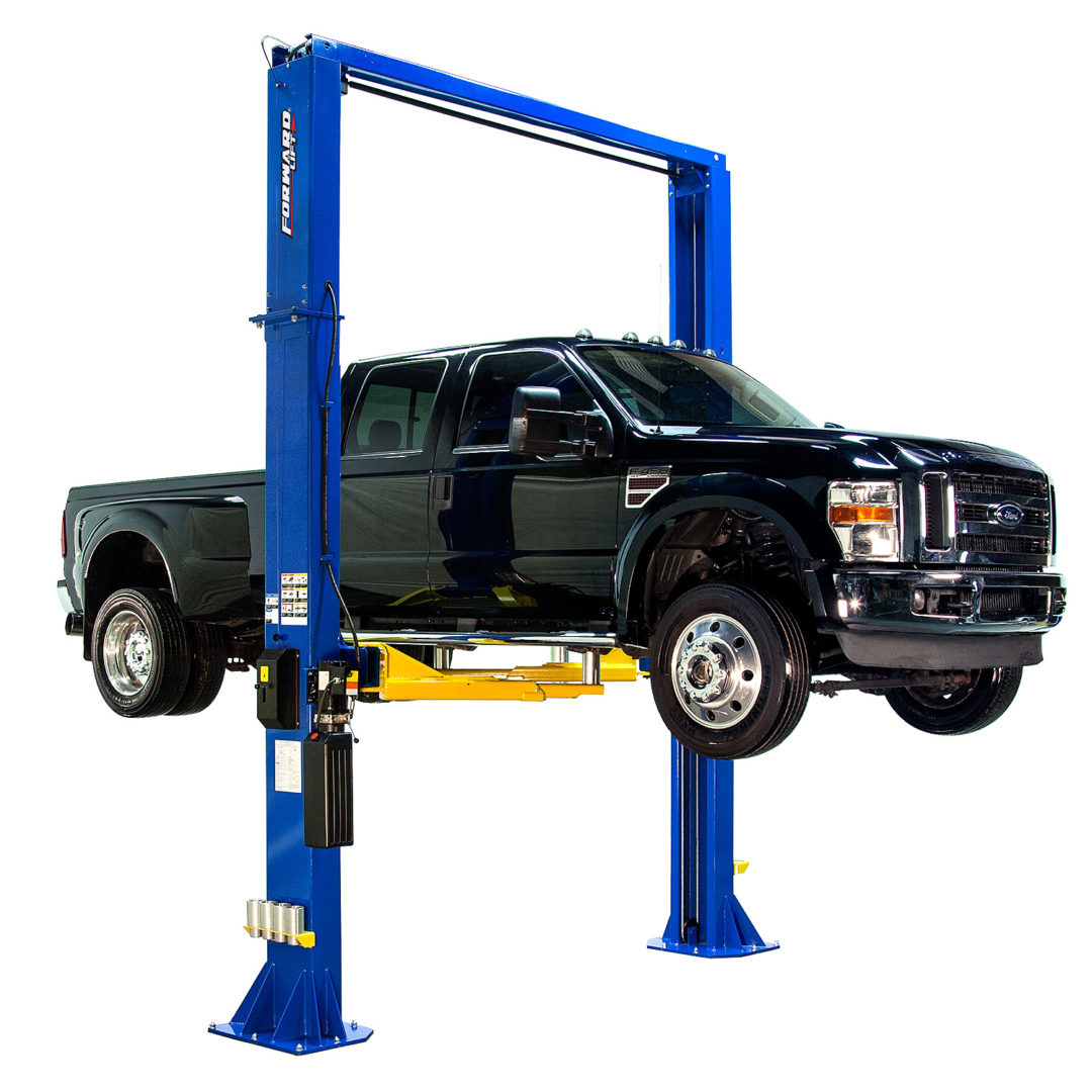 Forward Lift's New DP15 Lift Has Low-Profile Two-Stage Arms