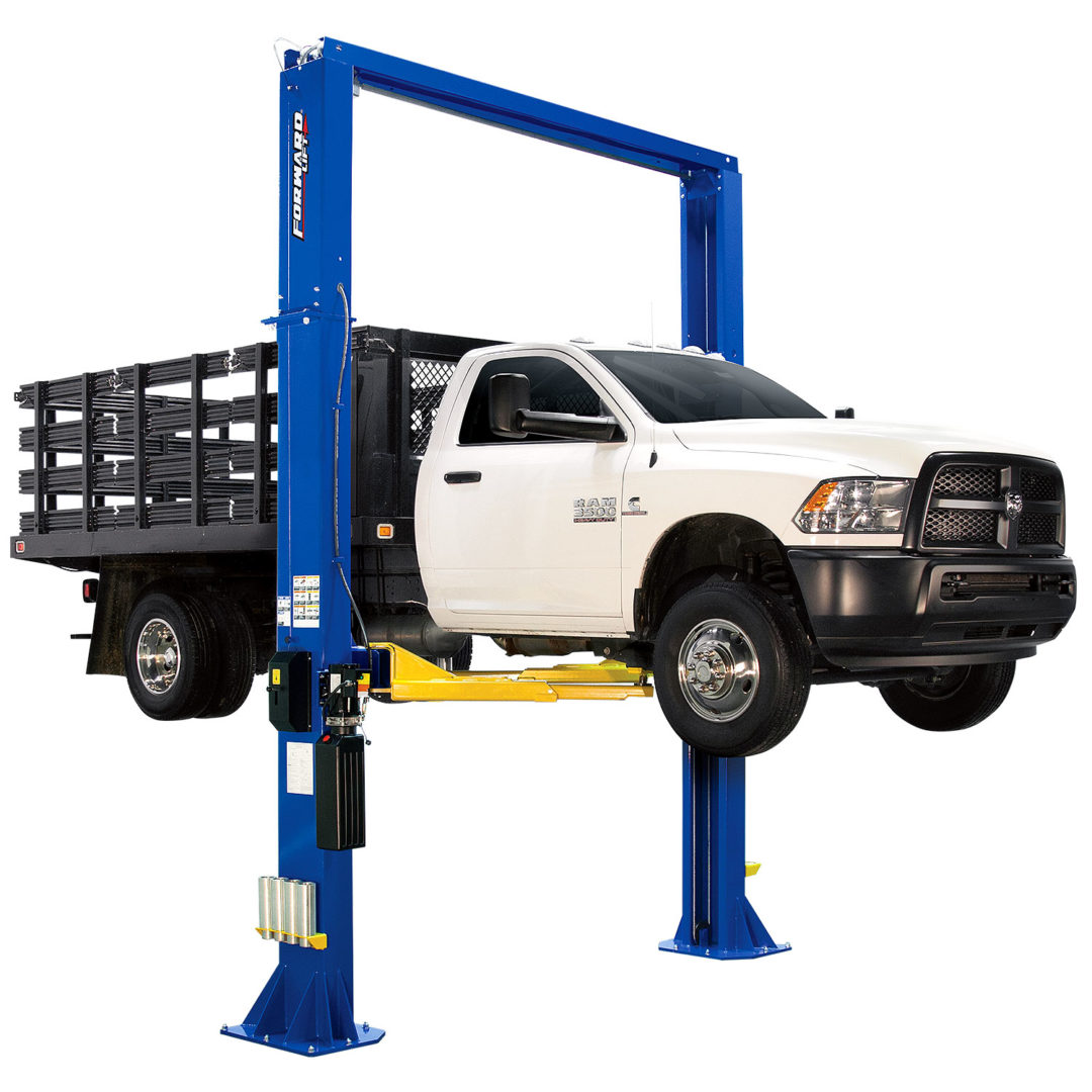 Forward Lift's New DP18 Lift Services Vehicles Up to 18,000 Pounds