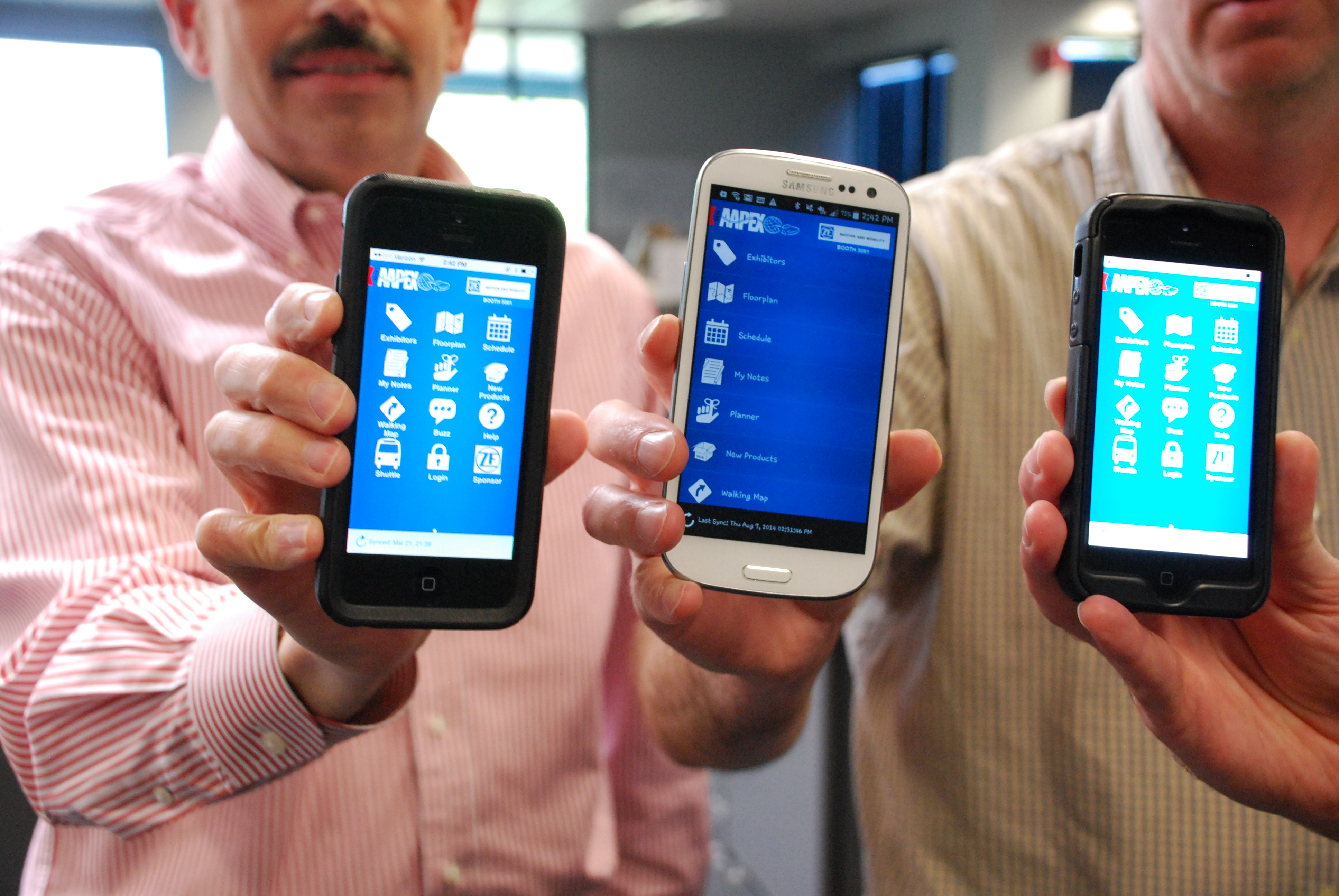 Free AAPEX 2014 mobile app helps attendees navigate show floor