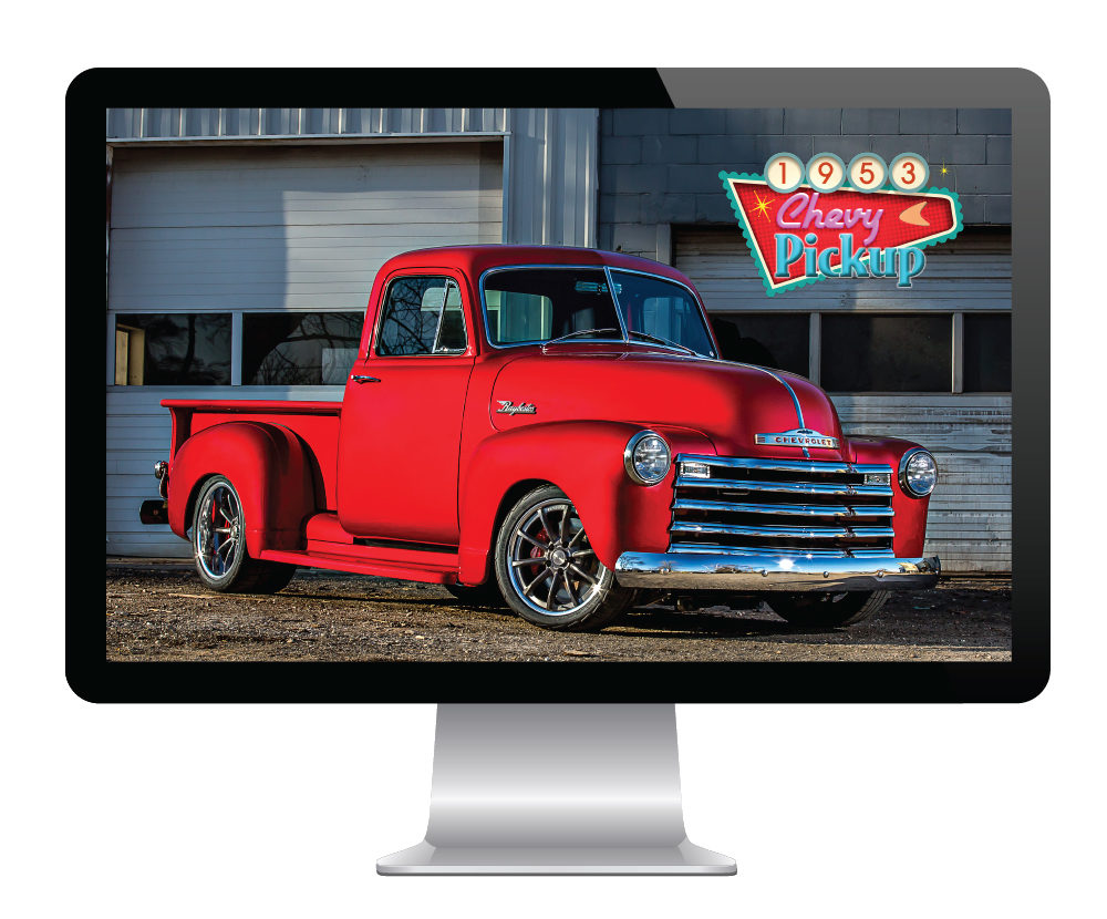 Free Screensaver Available of Raybestos '53 Chevy Pickup