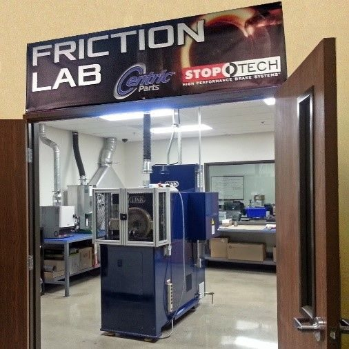 Friction materials lab opened by Centric Parts