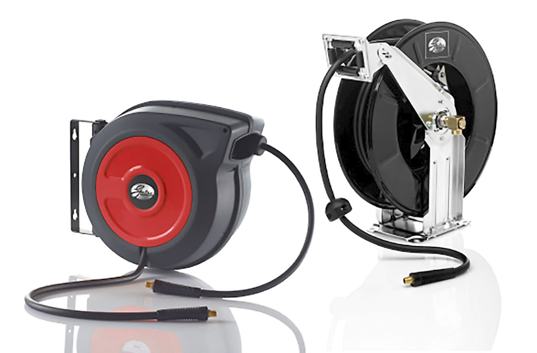 Gates Adds Two Types of Retractable Air Hose Reels
