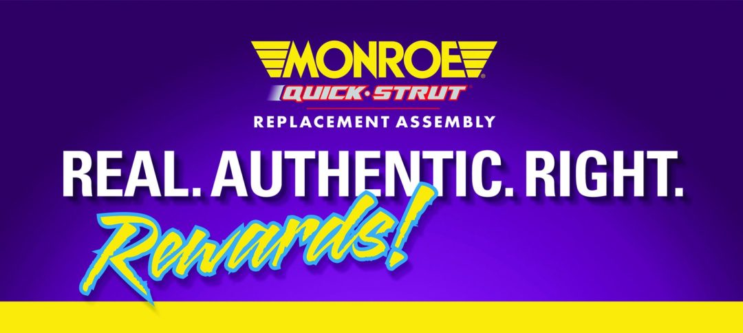 Get 'Real Rewards' in Monroe Quick-Strut promo by Tenneco