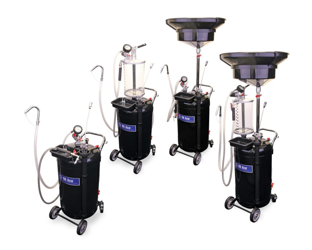 Graco Expands Line of Oil Ace Fluid Reclaim Systems