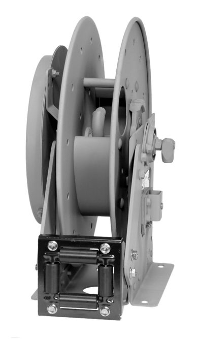 Hannay Reels N500 Series for chassis grease application