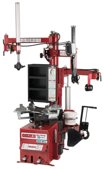 Hennessy introduces Coats 90X Rim Clamp tire changer