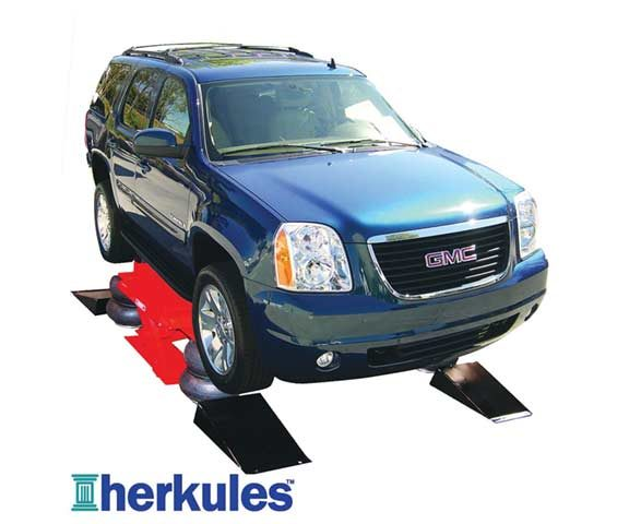 Herkules T200 Pit Boss air-operated vehicle lift