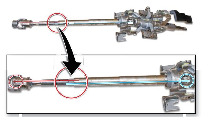 Honda Steering Shaft Phase