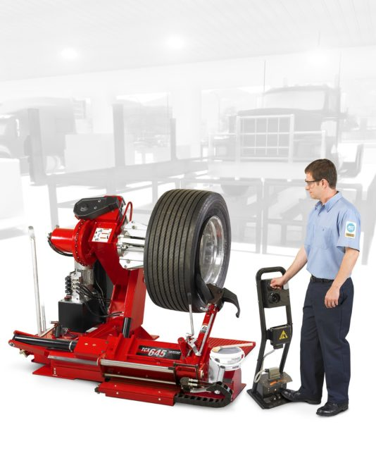Hunter Has a New Tire Changer for Heavy-Duty Equipment