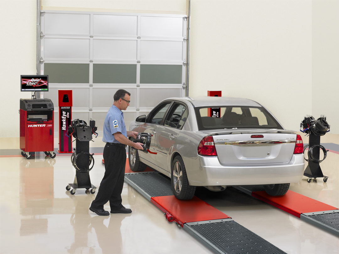 Hunter Quick Check system performs vehicle inspection in under 3 minutes