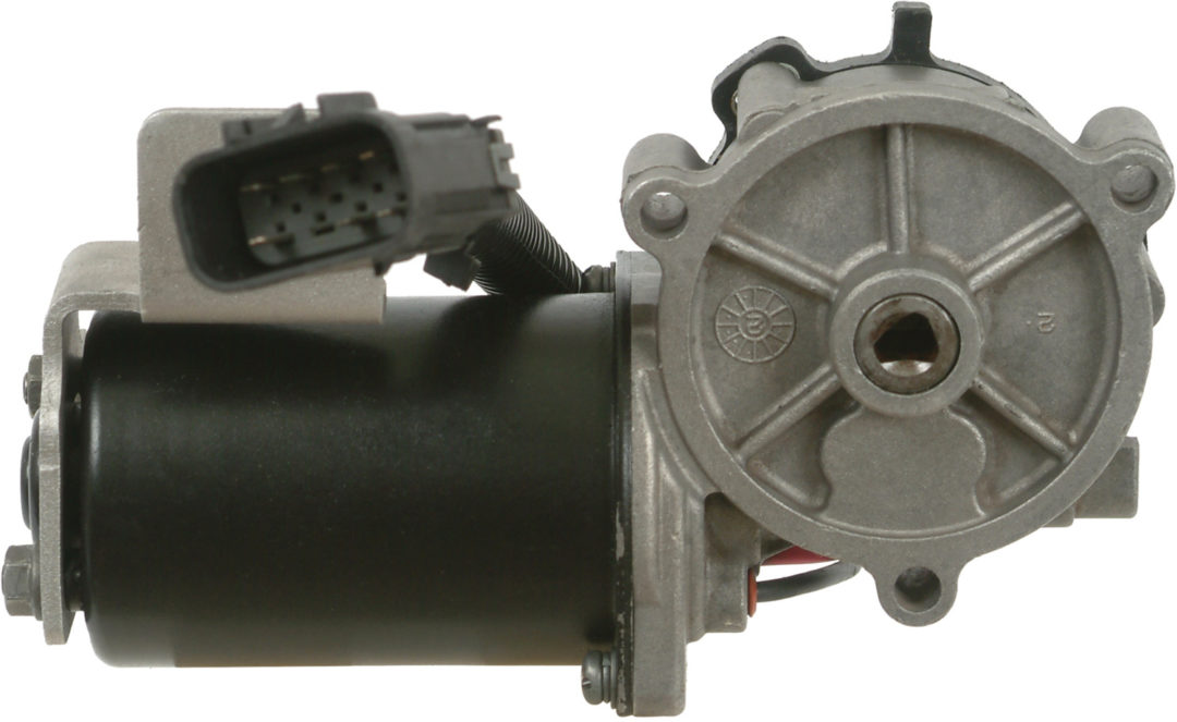 Increased transfer case motor coverage