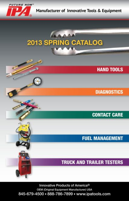 IPA Spring 2013 Catalog includes five new Articles