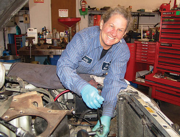 Judy's Automotive: Service 'With a Woman's Touch'