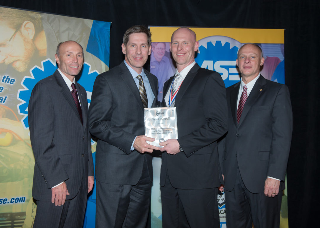 Kevin Morandi named Midas/ASE Tech of the Year