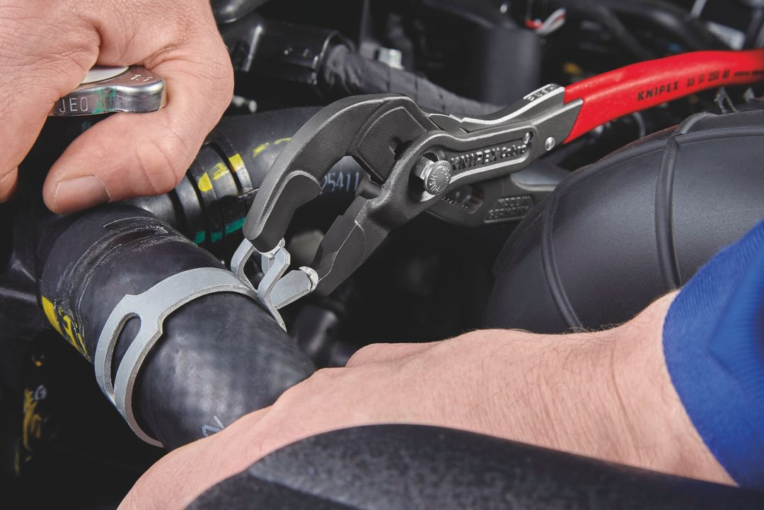 Knipex Tools Unveils Locking Hose Clamp Pliers