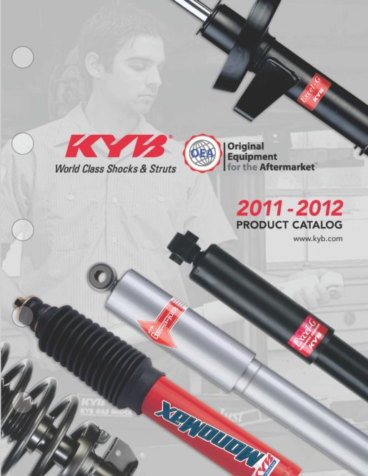 KYB America's new ride control catalog features 2,800 items
