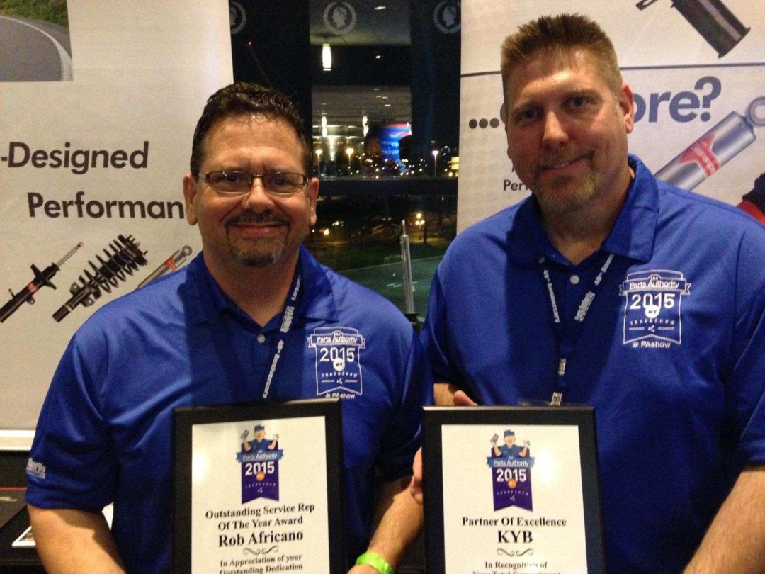 KYB Americas is a Parts Authority's 'partner of excellence'