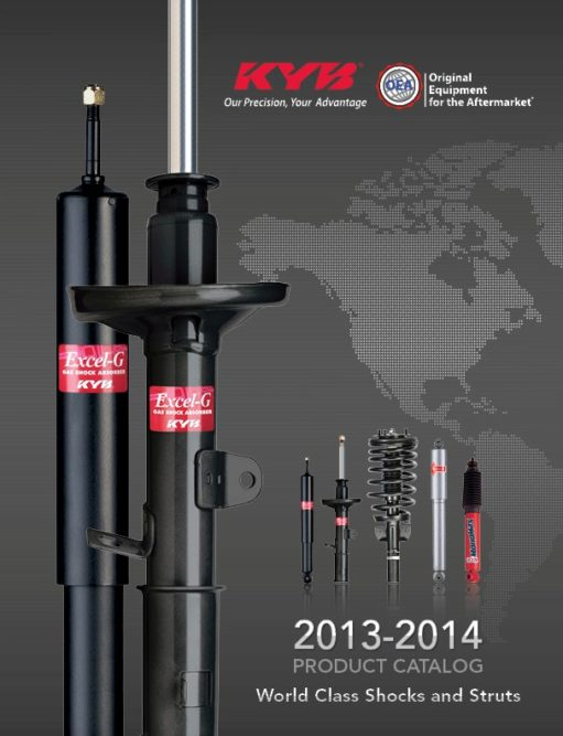KYB releases new ride control components catalog