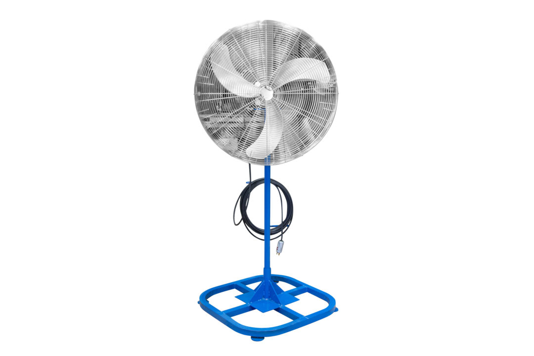 Larson Electronics Introduces Explosion-Proof Fan on a Four-Foot Stand