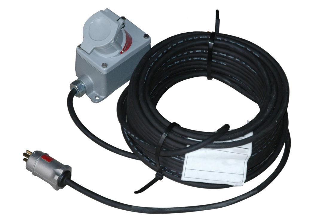 Larson explosion-proof Extension Cord with 25 foot reach