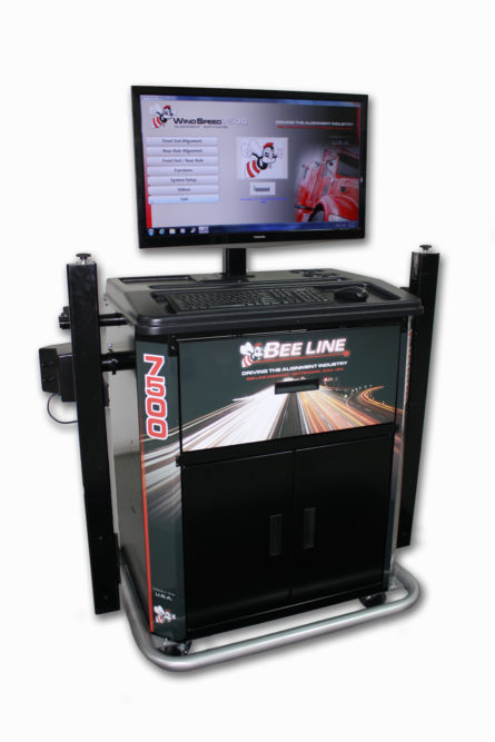 Laser fast: new Bee Line alignment system