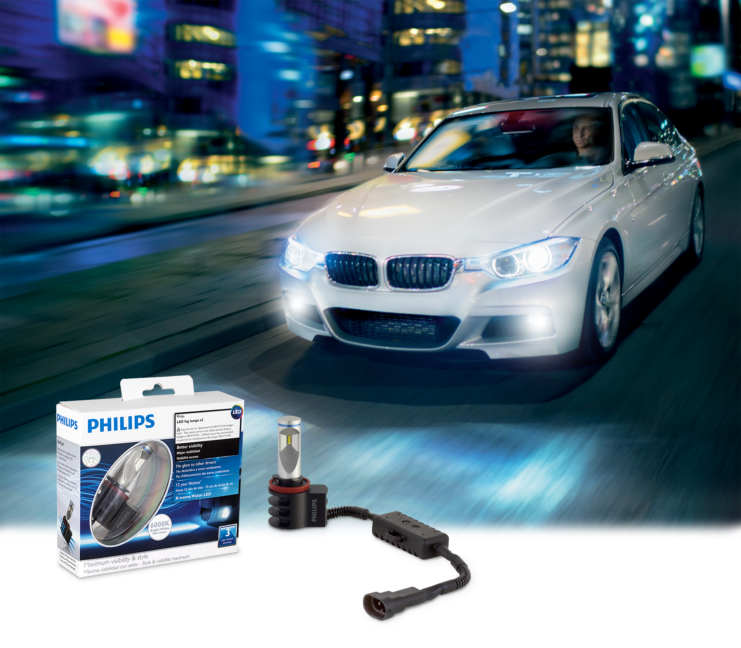Lumileds Expands Coverage for Philips X-tremeVision Fog Lamp