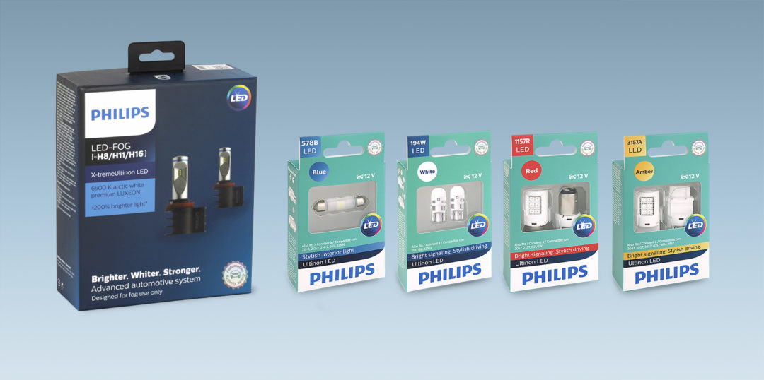 Lumileds Has Philips LED Light Upgrades for Vehicle Interiors and Exteriors