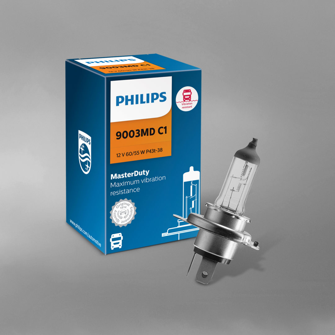 Lumileds Offers Philips MasterDuty Headlight Bulbs