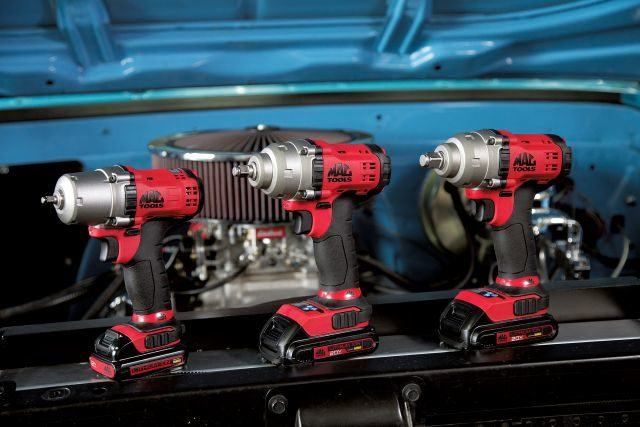 Mac Tool Adds Three Cordless Impact Wrench Kits