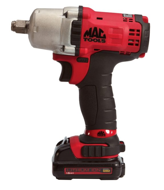 Mac Tools Cordless Line features BWP050C ½-inch drive compact impact wrench