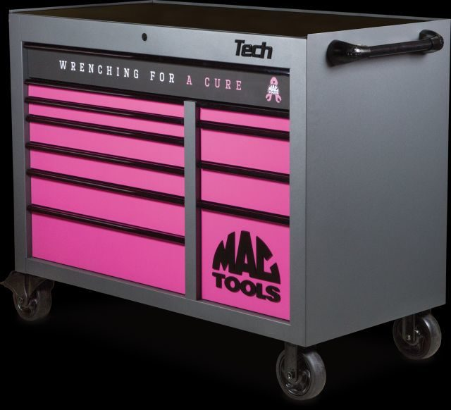 Mac Tools Introduces Breast Cancer Awareness Toolbox