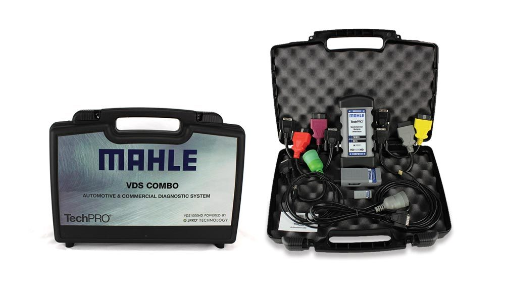 Mahle Introduces TechPro Kit for Light and Commercial Vehicle Diagnostics