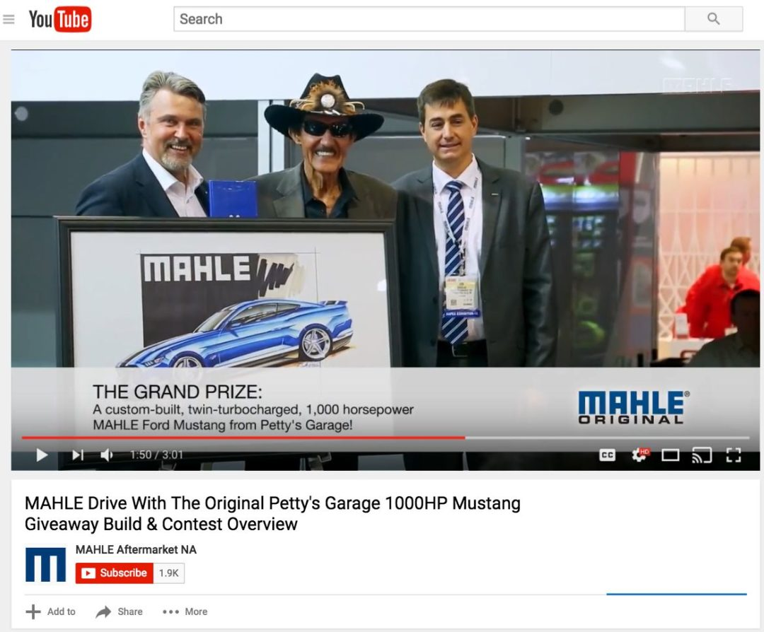 Mahle Launches YouTube Video Series