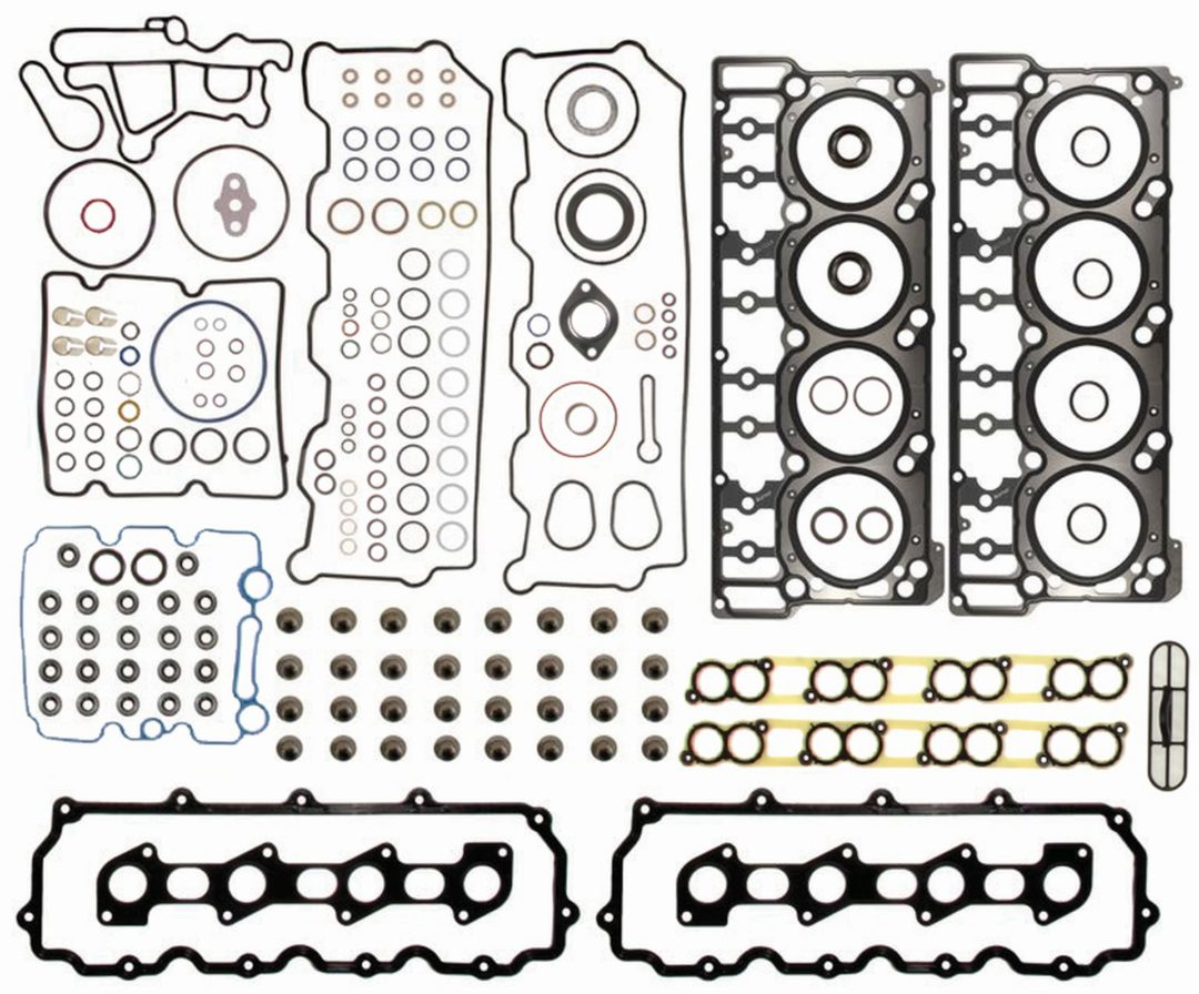 Mahle Original Gasket Head Set for Ford Powerstroke has 193 Components