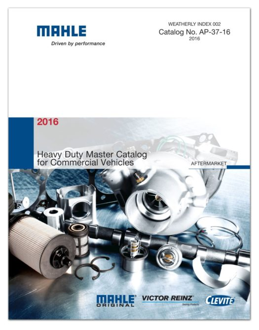 Mahle Releases 2016 Heavy Duty Catalog for Commercial Vehicles