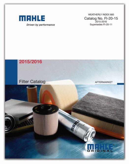 Mahle's new filter catalog covers majority of North American vehicles