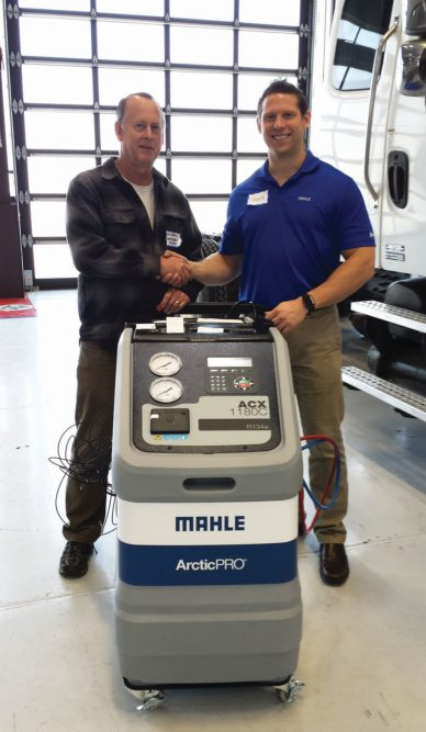 Mahle Service Solutions Donates A/C Machine to Santa Barbara College
