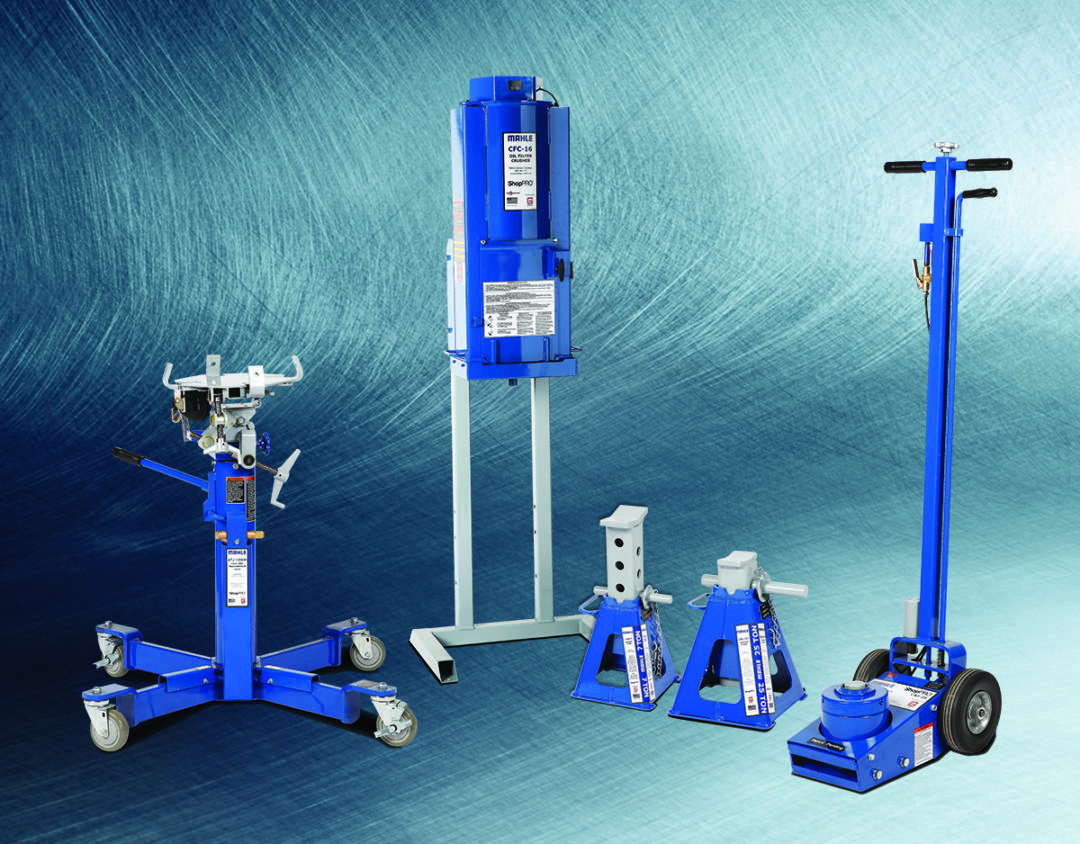 Mahle Unveils ShopPro Jacks and Lifting Equipment for Commercial Vehicles