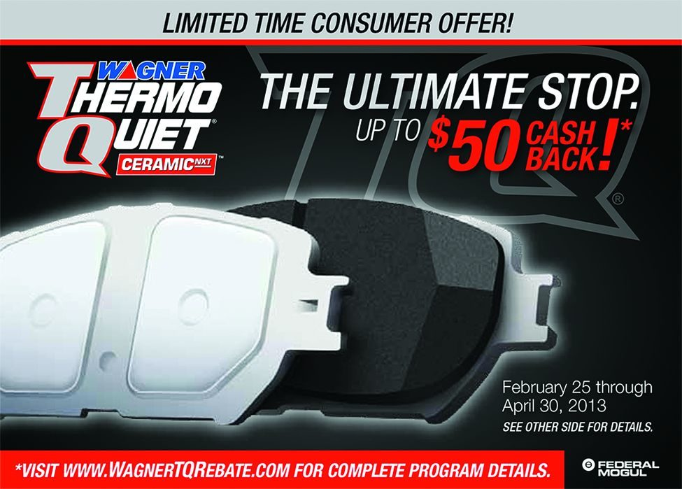 Make 'The Ultimate Stop' with Wagner ThermoQuiet rebate promo