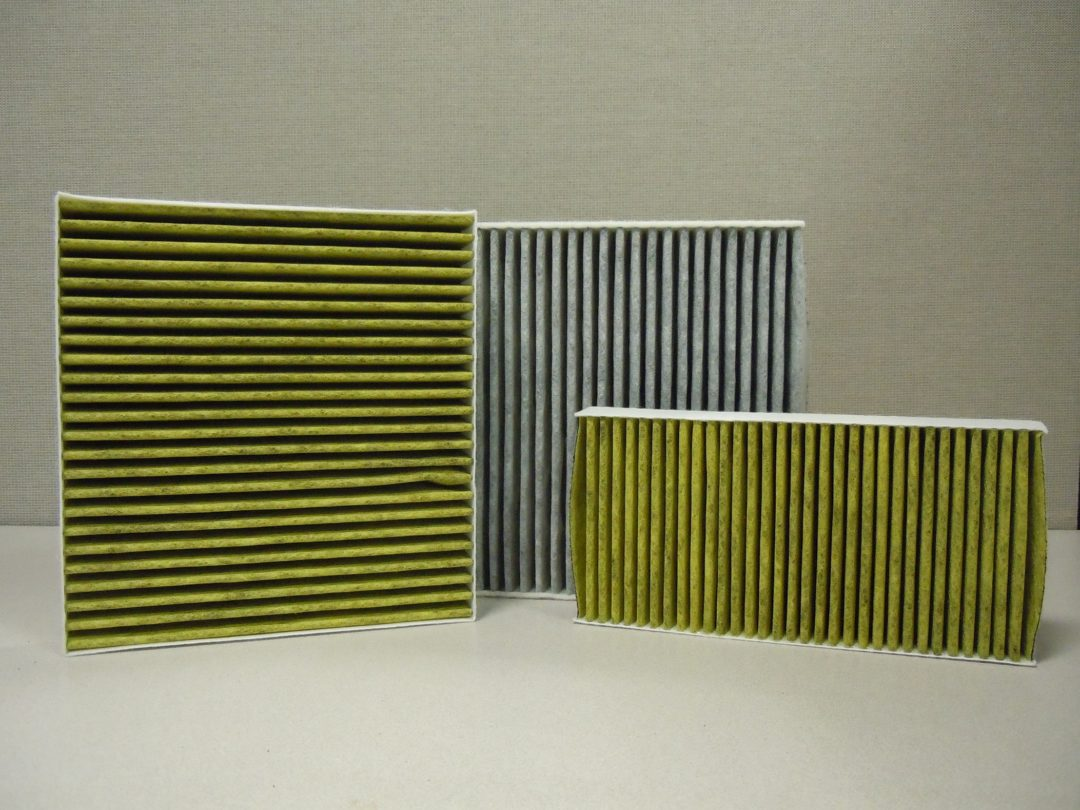 MANN-FILTER cabin filters have three-layer technology