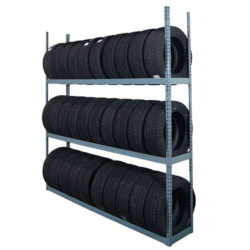 Martins Industries Offers Tire Shelving
