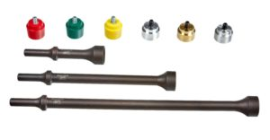 Mayhew Introduces 9-Piece Pneumatic Replaceable Tip Hammer Set